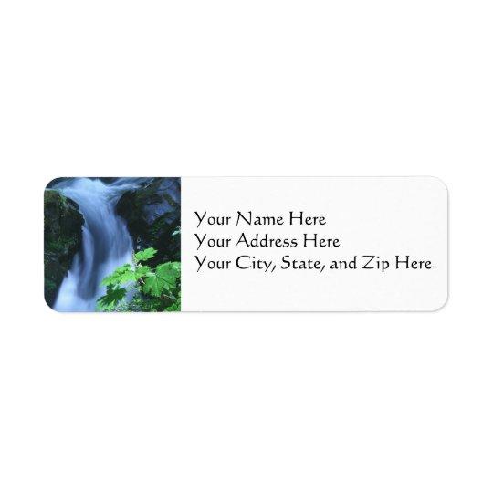 Address Labels:  Sol Duc Falls Label
