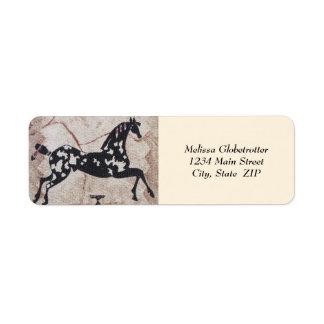Address Labels--Woven Pony Label