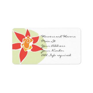 Address lables label
