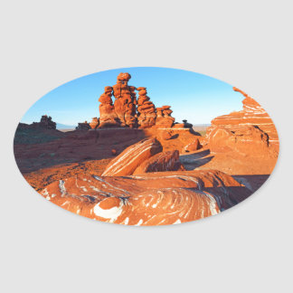 Adeii Eechii Cliffs, Navajo reservation, with Came