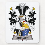 Adelaer Family Crest Mouse Pad