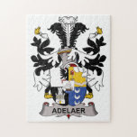 Adelaer Family Crest Puzzles