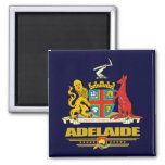 Adelaide 2 Inch Square Magnet