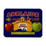 Adelaide Apples Australian Label Rectangle Magnets