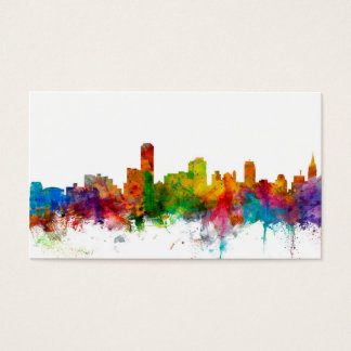 Adelaide business cards templates zazzle adelaide australia skyline business card reheart Image collections