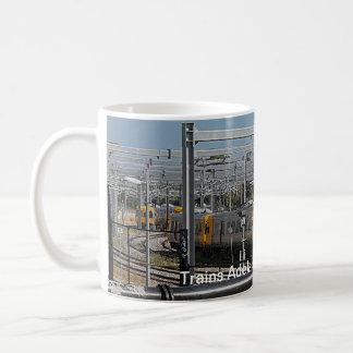 Adelaide entrena a la taza de café