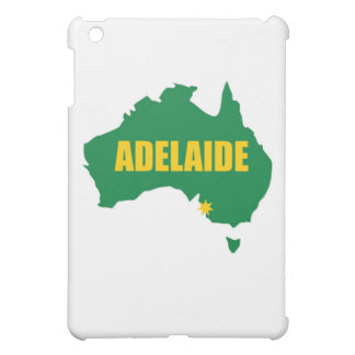 Adelaide Green and Gold Map iPad Mini Cover