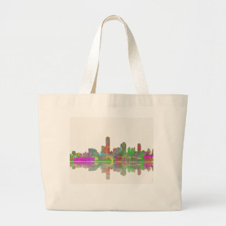 Adelaide SA Skyline Large Tote Bag