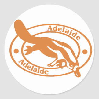 Adelaide Stamp Stickers