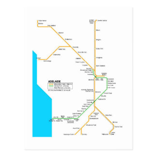 Adelaide subway post cards