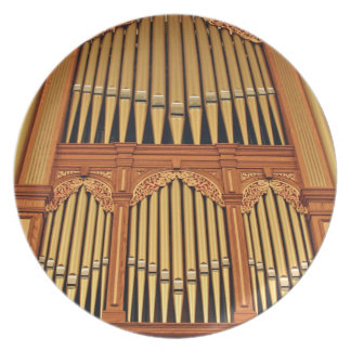 Adelaide Town Hall organ plate