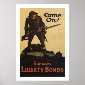 ¡Adelantado! - compre más enlaces de la libertad Póster