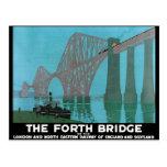 Adelante el puente - ferrocarril del noreste postales