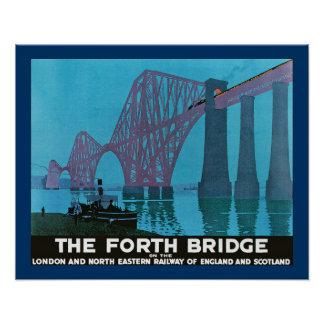 Adelante el puente póster