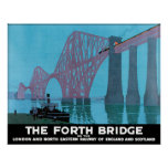 Adelante el puente posters