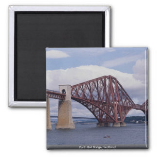 Adelante puente del carril, Escocia Imán Cuadrado