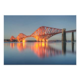 Adelante puente, Escocia Fotografías