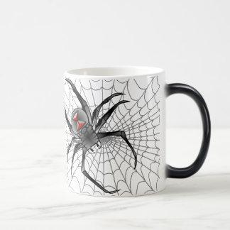 Adelante vino una araña… taza mágica