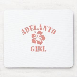 Adelanto Pink Girl Mouse Pads