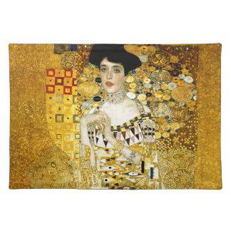 Adele Bloch-Bauer I by Gustav Klimt Art Nouveau Placemat