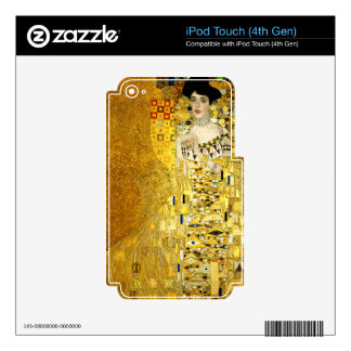 Adele Bloch-Bauer I by Gustav Klimt Art Nouveau Decal For iPod Touch 4G
