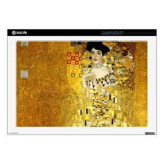 "Adele Bloch-Bauer I by Gustav Klimt Art Nouveau Skin For 17"" Laptop"