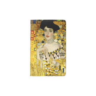 Adele Bloch-Bauer I by Gustav Klimt Pocket Moleskine Notebook