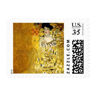 Adele Bloch-Bauer I by Gustav Klimt Postage Stamps