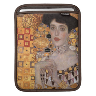 Adele Bloch Bauer Portrait (Detail) Gustav Klimt Sleeves For iPads