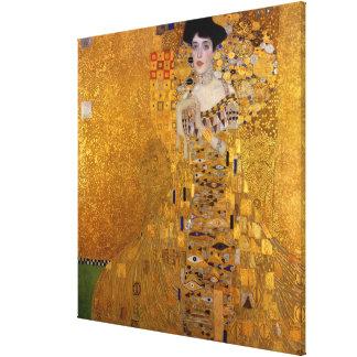 Adele Bloch-Bauer's Portrait by Gustav Klimt 1907 Canvas Print