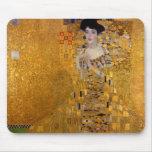 Adele Bloch-Bauer's Portrait by Gustav Klimt 1907 Mousepad