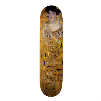 Adele Bloch-Bauer's Portrait by Gustav Klimt 1907 Skateboard Deck