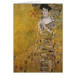 Adele Bloch-Bauer's Portrait  by Gustav Klimt Greeting Cards