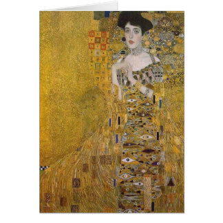Adele Bloch-Bauer's Portrait  by Gustav Klimt Greeting Card