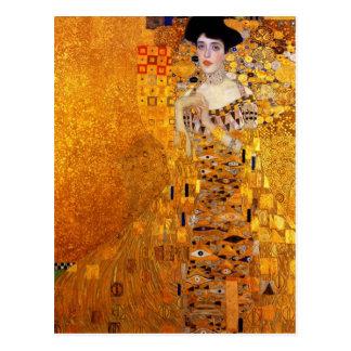 Adele Bloch-Bauer's Portrait by Gustav Klimt Postcard