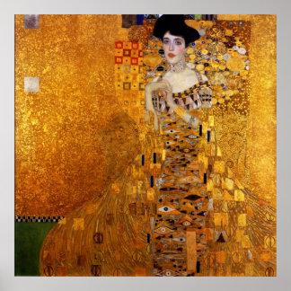 Adele Bloch-Bauer's Portrait by Gustav Klimt Poster