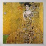Adele Bloch-Bauer's Portrait by Gustav Klimt Posters