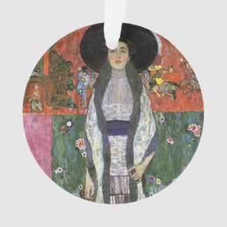 Adele Bloch by Gustav Klimt art nouveau art Ornament