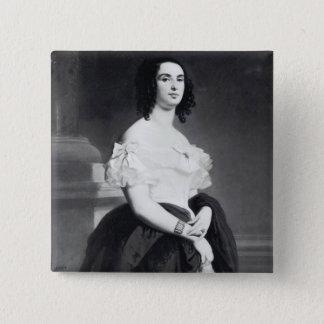 Adele Foucher  1839 Pinback Button