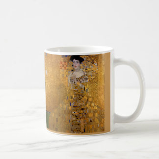 Adele, The Lady in Gold - Gustav Klimt Coffee Mug