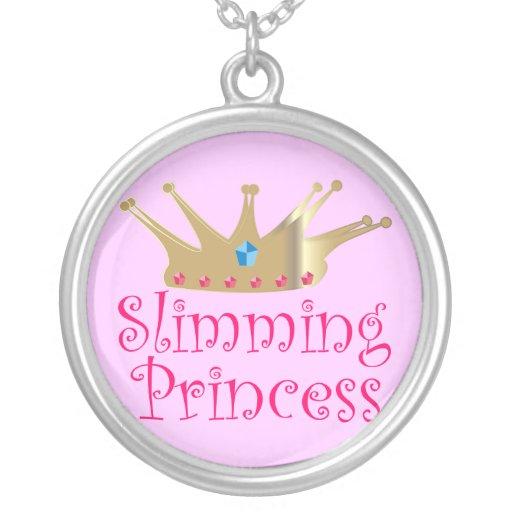 Adelgazar a la princesa colgantes personalizados