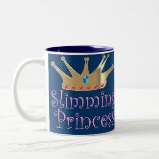 Adelgazar a la princesa tazas