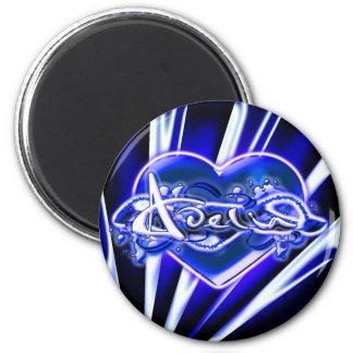 Adelia 2 Inch Round Magnet