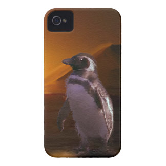 Adelie Penguin Antarctic Sunset iPhone 4 Covers