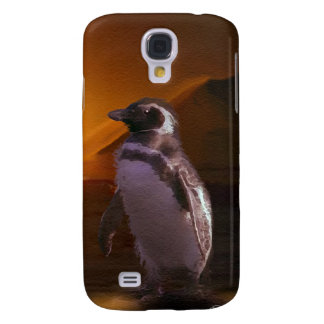 Adelie Penguin & Antarctic Sunset Samsung Galaxy S4 Cover