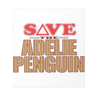 Adelie Penguin Save Notepad