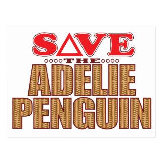 Adelie Penguin Save Postcard