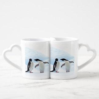 Adelie Penguins Coffee Mug Set