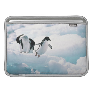 Adelie penguins (pygoscelis adeliae) Antarctica MacBook Air Sleeve