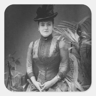 Adelina Patti, 1880 Colcomanias Cuadradas